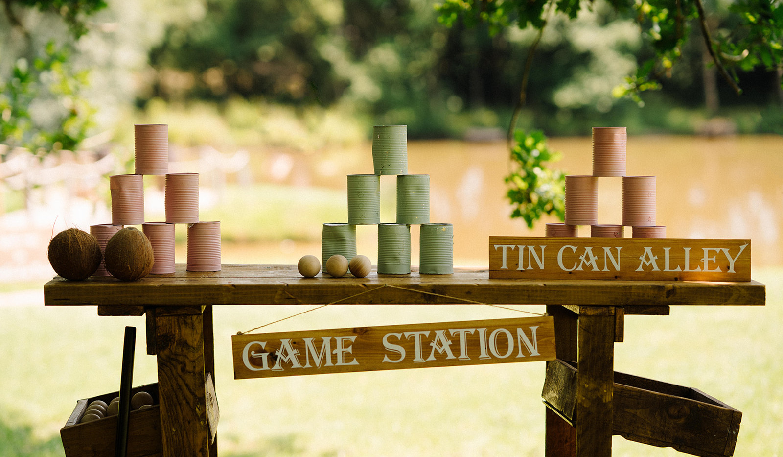 Traditional Lawn Games Hire | Chocolate Falls
