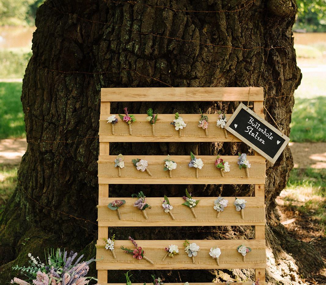 Buttonhole Station Wedding Hire | Chocolate Falls