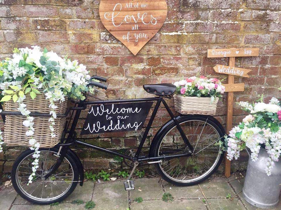 Vintage Bike Bespoke Sign | Chocolate Falls