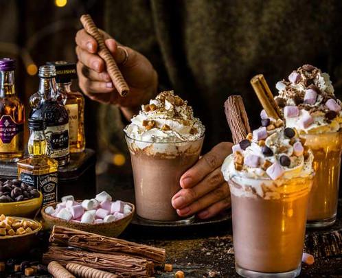Hot Choc Toppings | Chocolate Falls