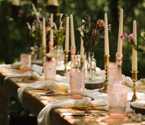 Pink Wedding Cut Glass | Chocolate Falls