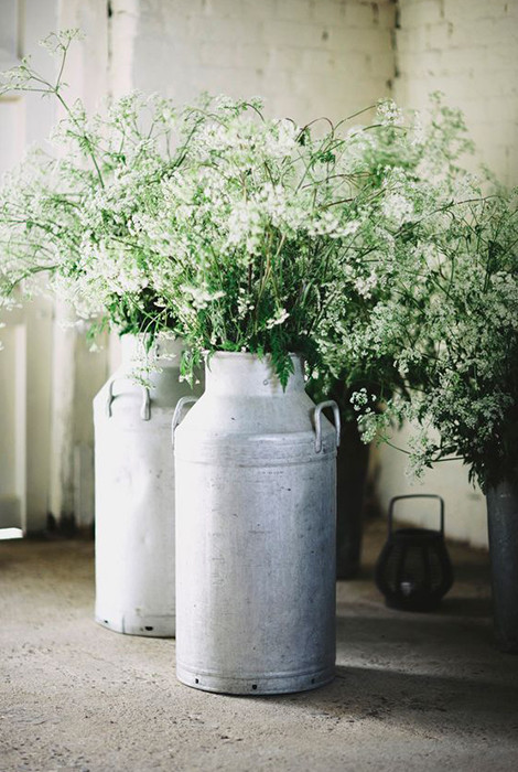 Silver Churns Rustic Hire | Chocolate Falls