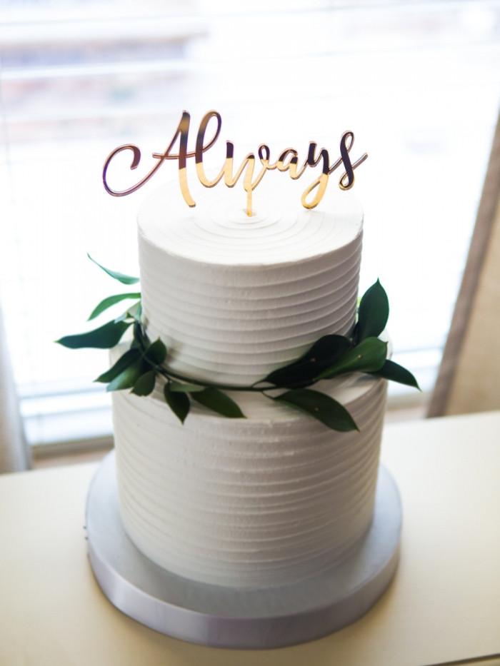 Always Wedding Cake Topper Harry Potter   Chocolate Falls