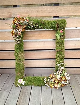 Floral Moss Frame | Chocolate Falls