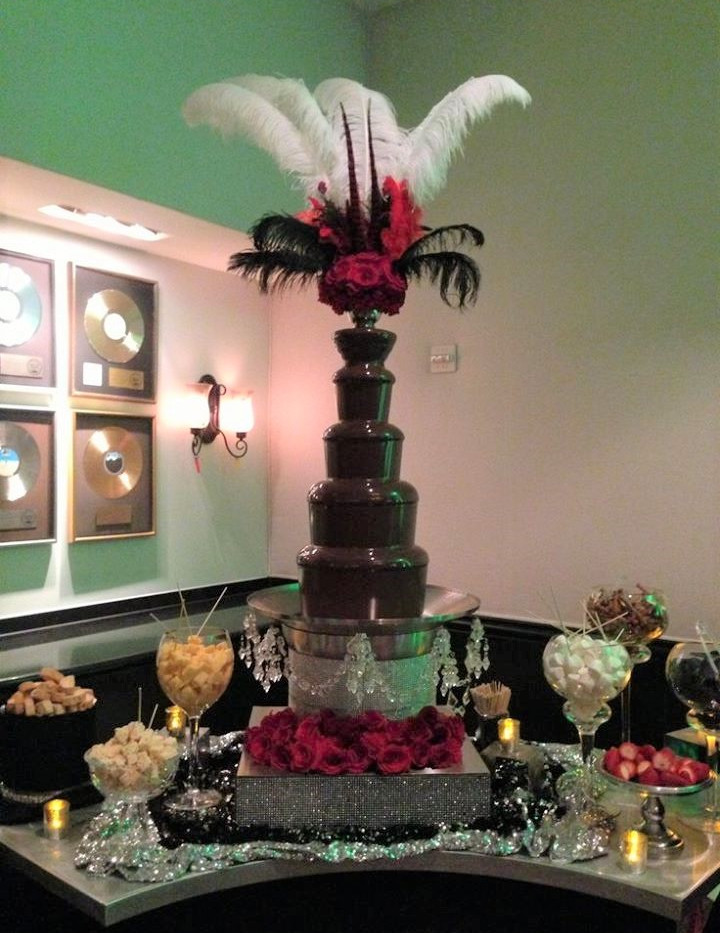 1920 Fountain | Chocolate Falls