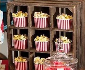 Popcorn Wedding Favours | Chocolate Falls