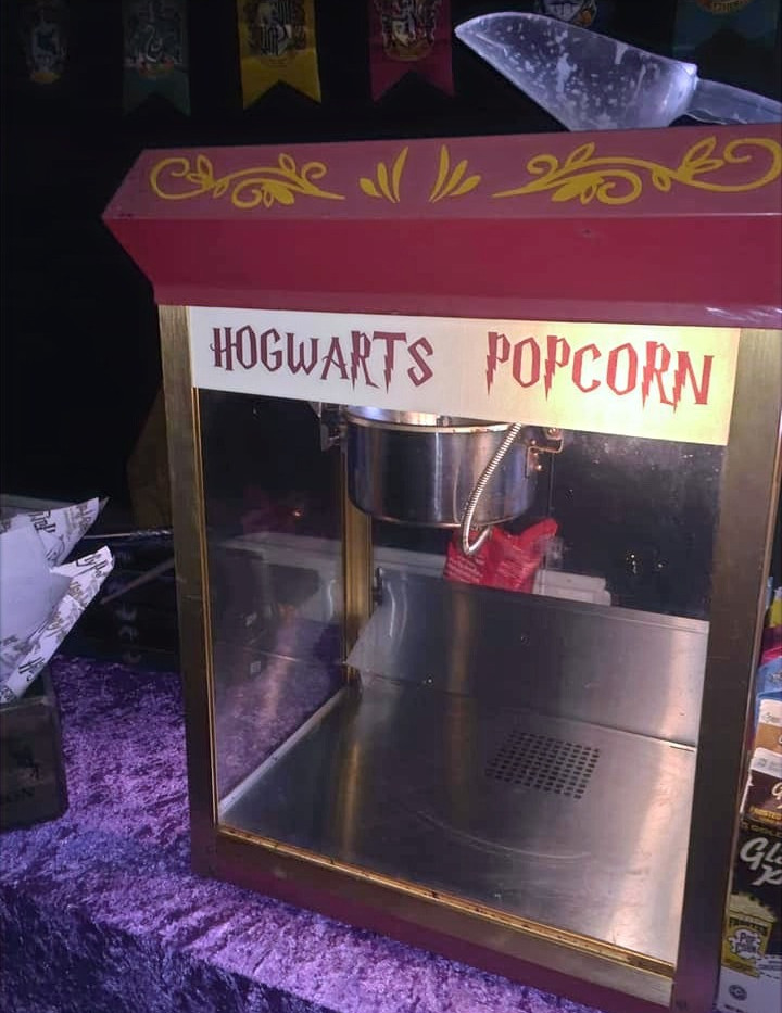 Hogwarts Popcorn | Chocolate Falls