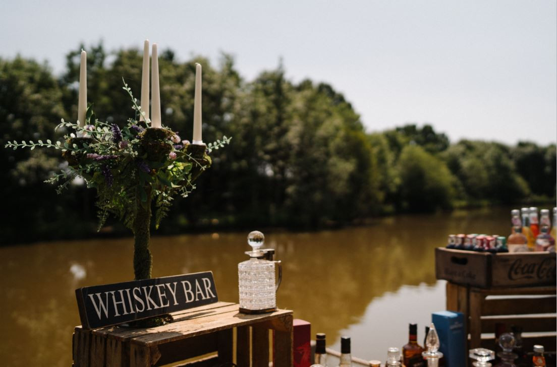 Whiskey Bar Event Hire | Chocolate Falls