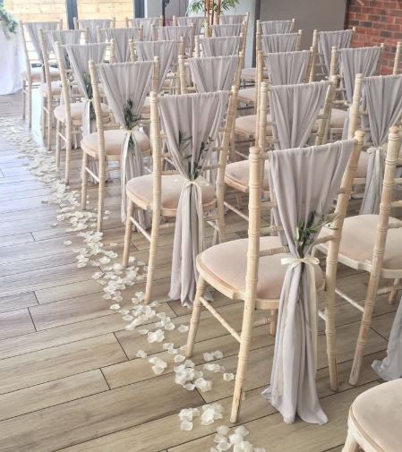 Shell Grey Vertical Chair Drops | Chocolate Falls