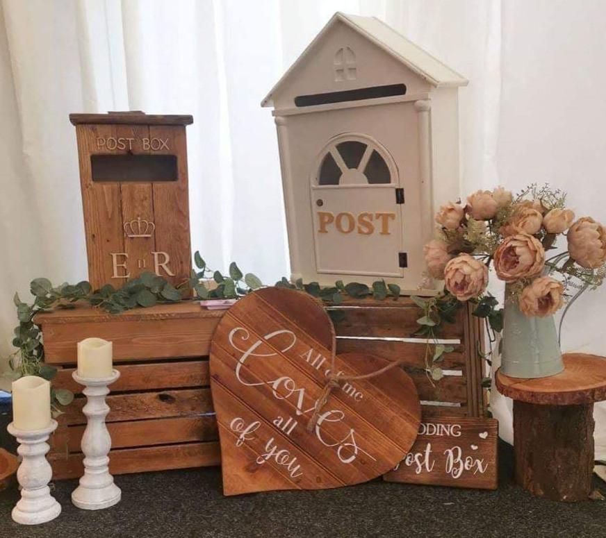 Post Box Display | Chocolate Falls