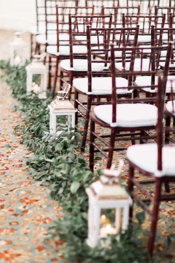 Lantern Decor Wedding Aisle Hire | Chocolate Falls