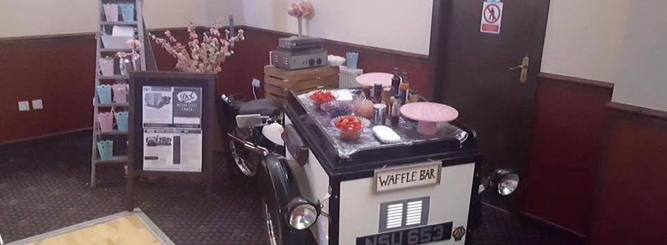 Waffle Cart & Vintage Trike   Chocolate Falls