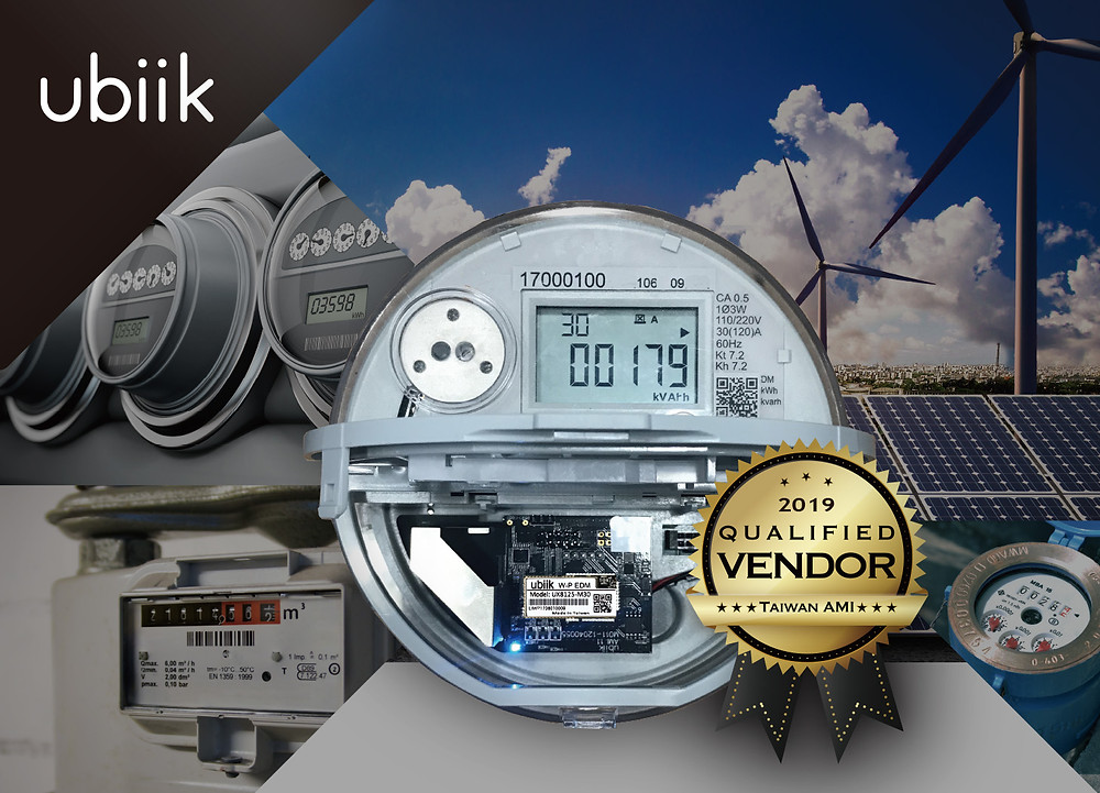 Ubiik has been awarded Taiwan's electricity AMI tender for the second year in a row.
