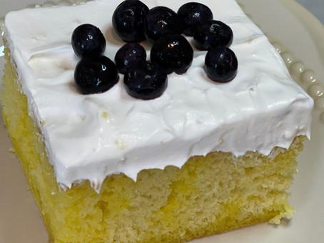 LEMON JELLO POKE CAKE