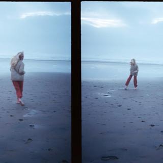 casey on the beach