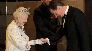QUEEN ACCEPTS DAVID CAMERON'S RESIGNATION