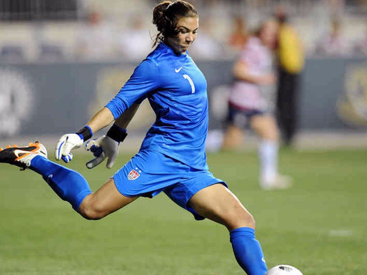HOPE SOLO BANNED FOR COMMENTS AT RIO
