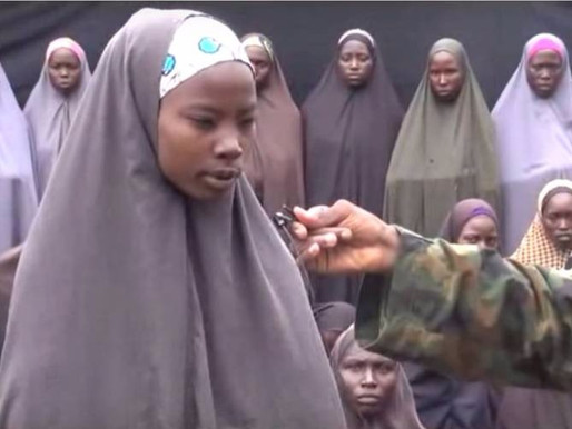 A MESSAGE FROM THE CHIBOK GIRLS
