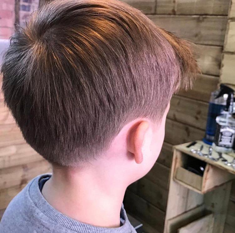 Boys Haircut 12-15 Years Old