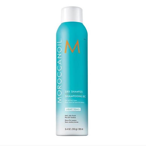 Moroccanoil Dry Shampoo, Light Tones 205ml