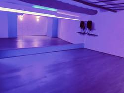 Kék terem hangulatvilágítás