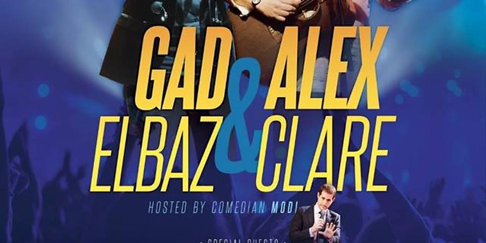 Gad Elbaz and Alex Clare Live In New York