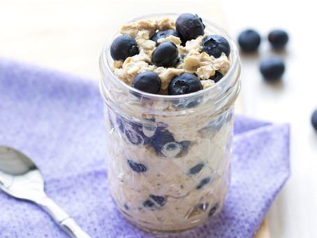Blueberry Overnight Oats (BOO)