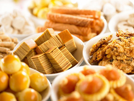 CNY treats calorie count - How much to walk it off?