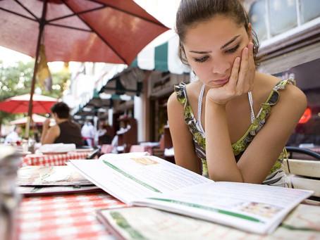 Spotting the unhealthy in menus
