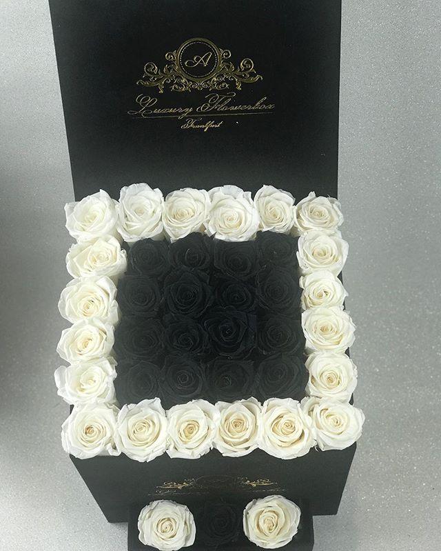 #blackandwhiteroses #infinityroses #rose