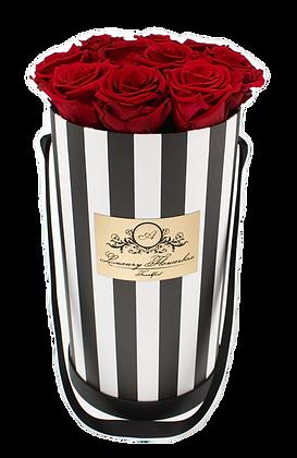 Glamour Flowerbox Black & White M