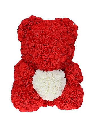 Love Heart Rosenbär Rot