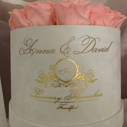 Personalisierte Flowerbox!!!Table Size C