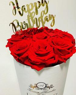 #happybirthday #redroses #frankfurtammai