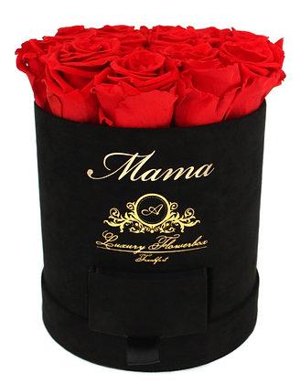 Personalisierte Classic Flowerbox Black M