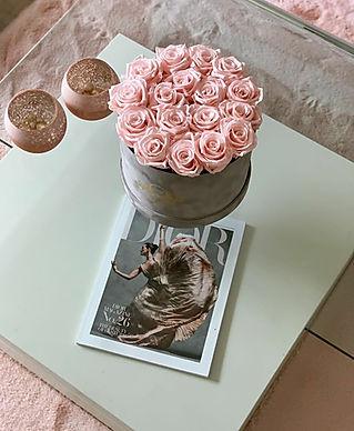 Graue Flowerbox Table Size