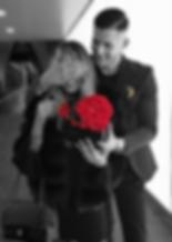 Love Heart Flowerbox Überraschung, Mann, Frau, Infinity Rosen