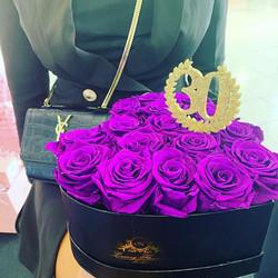 #aluxuryflowerbox #heartbox #30 birthday
