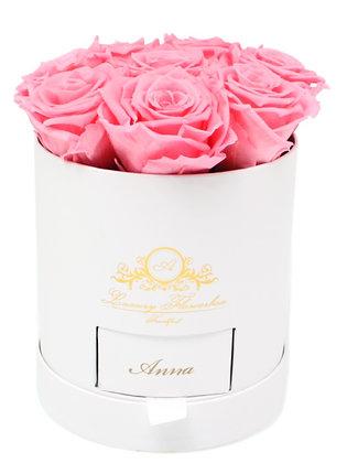 Personalisierte Classic Flowerbox Weiß M