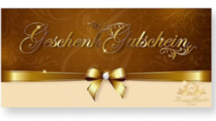 Geschenkgutschein Gold A Luxury Flowerbo