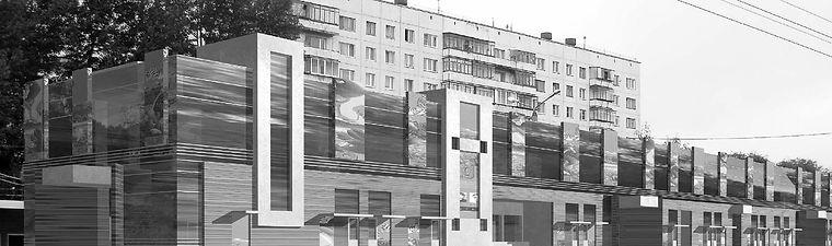 КОНТЕНТ-ВА. Проектирование торговых центров