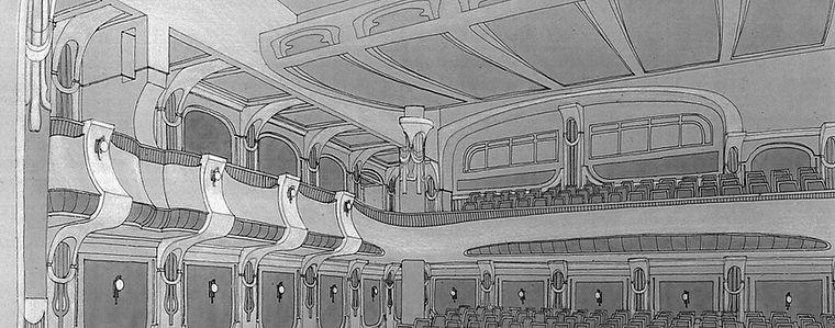 КОНТЕНТ-ВА. Интерьерные решения. Театр комедии в Москве