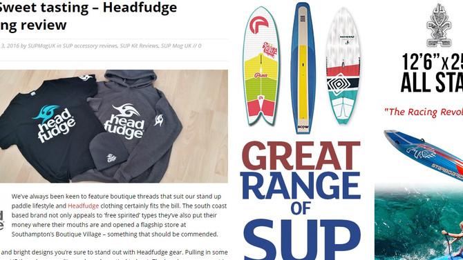 SUP Mag UK reviews Headfudge Clothing