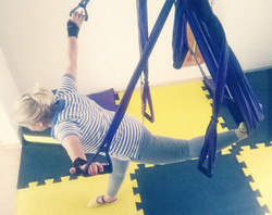 Aero pilates columpio