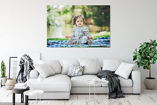 Lifestyle Family Photography Canvas