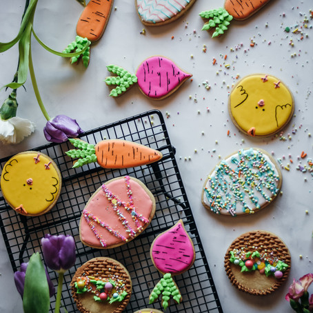 Soft Sugar Cookie Cut-Outs w/ Royal Icing