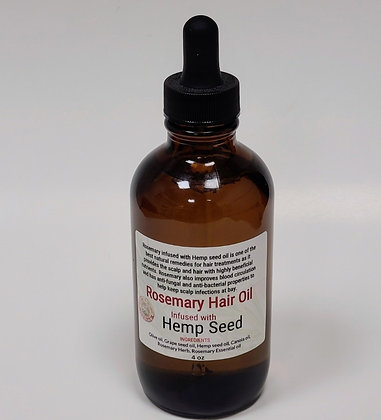 Rosemary Hair w/ Hemp Seed