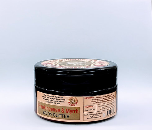 Frankincense & Myrrh Body Butter (Unisex)