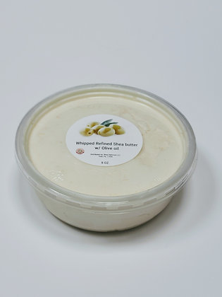 Whipped Refined Shea butter w/ Olive Oil