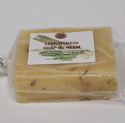 Lemongrass Soap w/ Neem